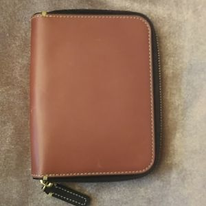 Coach Men's 100% Leather Travel Wallet